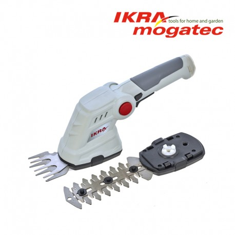 Аккумуляторные ножницы для травы и живой изгороди 3,6В Ikra Mogatec IGBS 3.6 USB