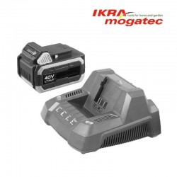 Ikra Mogatec 40V Li-Ion R3 Charger Fast Atra Lādētājs
