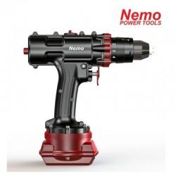 NEMO vandeniui atsparus 18V 3Ah-Li akumuliatorinis smūginis suktuvas- gręžtuvas  Hammer Drill 50m