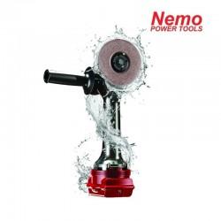 NEMO profesionalus 22V 5 Ah akumuliatorinis kampinis šlifuoklis