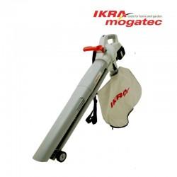 Аккумуляторный садовый воздуходув 40В 2x 2.0 Ач Ikra Mogatec ICBV 2/20