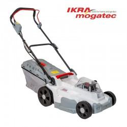Batteridreven græsplæneklipper 2x 20V 2.0Ah IKRA Mogatec ICM 2/2037