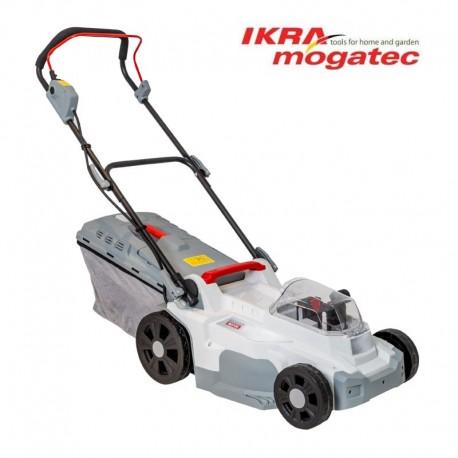Аккумуляторная газонокосилка 2x 20V 2.0Ah Ikra Mogatec ICM 2/2037