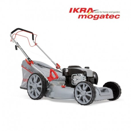Бензиновая самоходная газонокосилка IKRA 51cm 2.5 kW Ikra 4in1 IBRM 51S