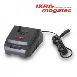 Быстрое зарядное устройство для 20В Ikra аккумуляторов