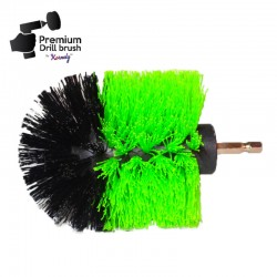 Premium Drill Brush For Professional Cleaning - Medium, Green, Original