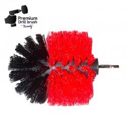 Профессиональная щетка Premium Drill Brush - жесткий, красный, Original