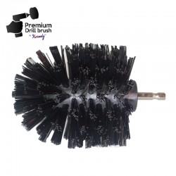 Профессиональная щетка Premium Drill Brush - очень жесткий, черный, Original