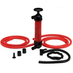 Oil, grease and fuel extraction syringe / pump