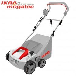 Sähkökäyttöinen nurmikonelvytin 1,8 kW Ikra Mogatec IEVL 1838