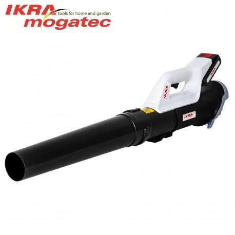 Аккумуляторный садовый воздуходув 20В 2 Ач Ikra Mogatec ICB 20