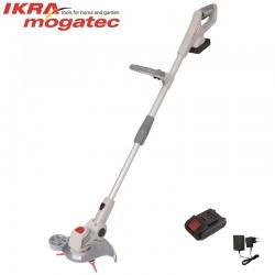 Cordless trimmer 20V 2 Ah Ikra Mogatec ICGT 2025