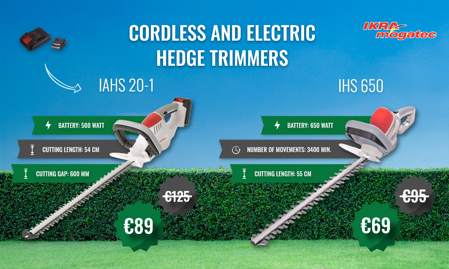 SALE Hedge Trimmers - Grass Shears