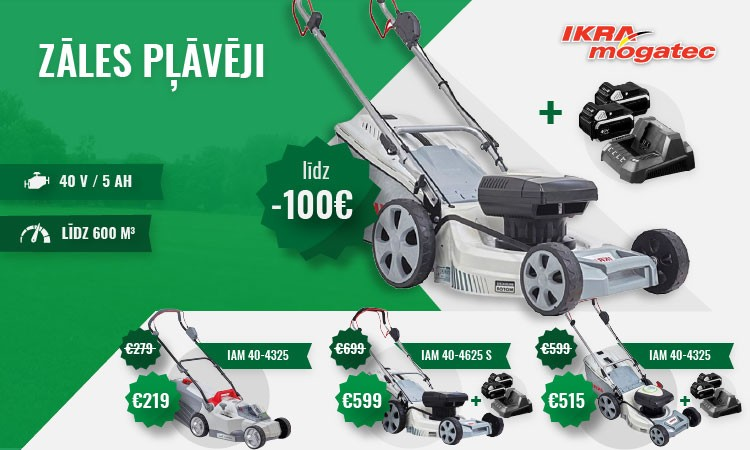 Cordless Lawn Movers